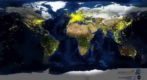 Fluxo aéreo no mundo