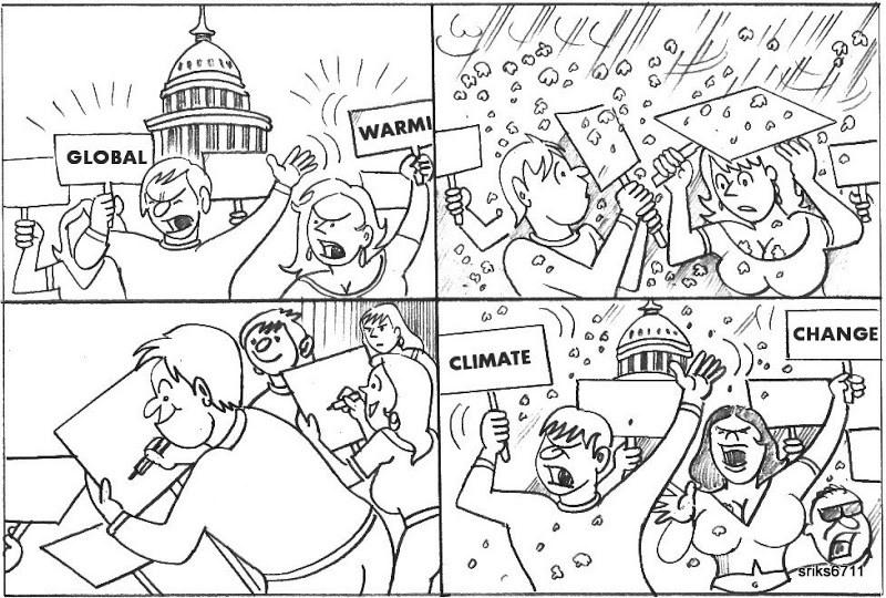 Aquecimento Global ou... Mudanças Climáticas